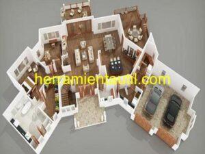 Programas para diseñar casas 3D en español